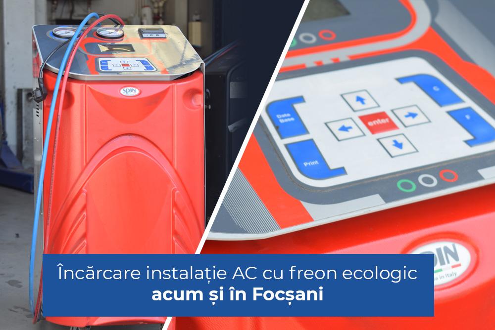 Instalație AC cu freon ecologic Focșani Vrancea